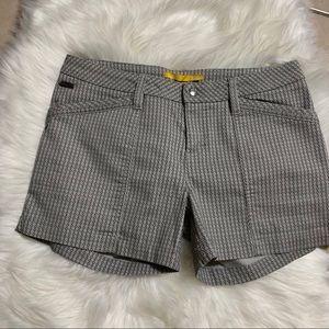 Lolë women's gray print shorts